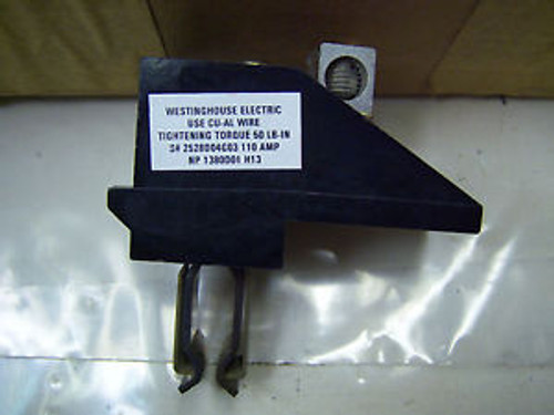 (7554) Cutler Hammer Bus Plug Neutral Stab Assembly 110 A PWN110