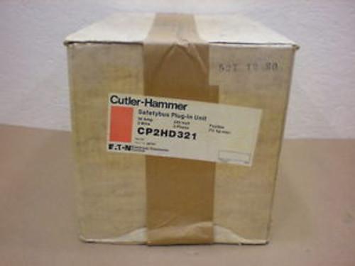 1  Cutler Hammer Cp2Hd321 30 Amp 240 Volts 3 Wire Safety Bus Plug