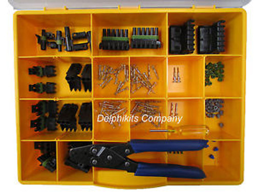 DELPHI WEATHERPACK KIT WP-155 WITH TOOL