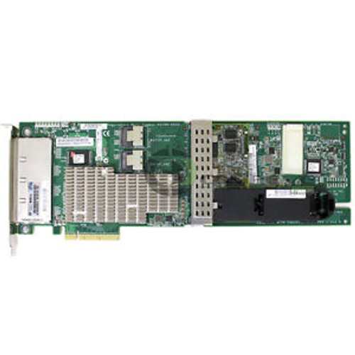 HP Smart Array P812/1G FBWC 2-ports Int/4-port PCIe x8 SAS Controller 487204-B21