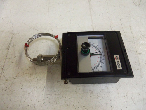 UNITED ELECTRIC 802-6BS TEMPERATURE CONTROLLER *USED*