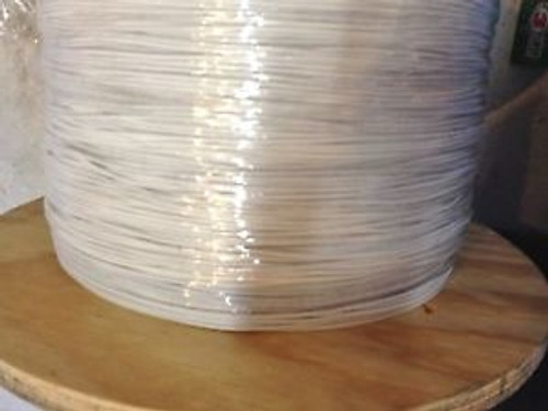 # 18 AWG Gauge MTW Electrical Machine Tool Wire White on Spool 2500 Feet