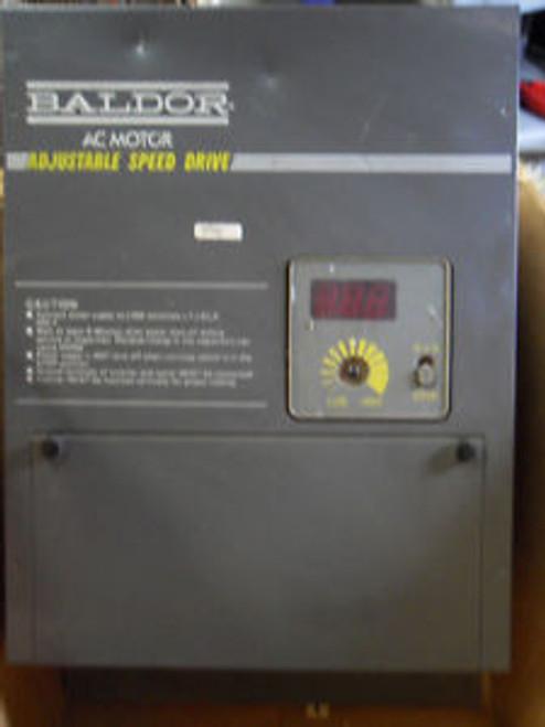 (H7) NEW BALDOR 1D11405-E8 AC MOTOR 5 HP ADJUSTABLE SPEED DRIVE