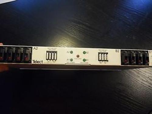 100A TELECT FUSE PNL Quad-feed 2/2 TPA/GMT, -48V - 009-8005-4404