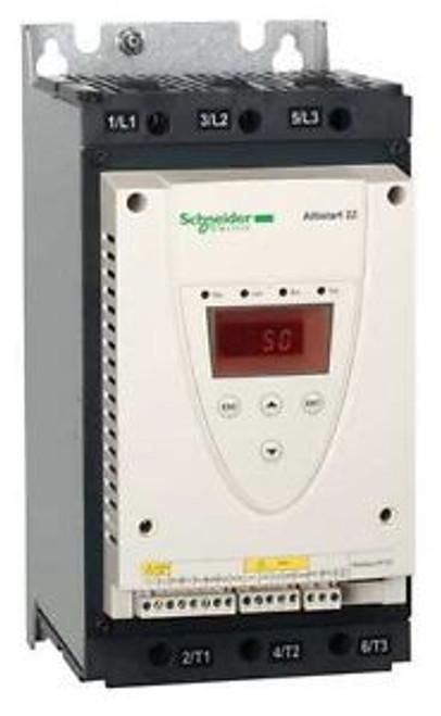 SCHNEIDER ELECTRIC ATS22D88S6U Soft Start, 208-600VAC,88Amp,3 Phase