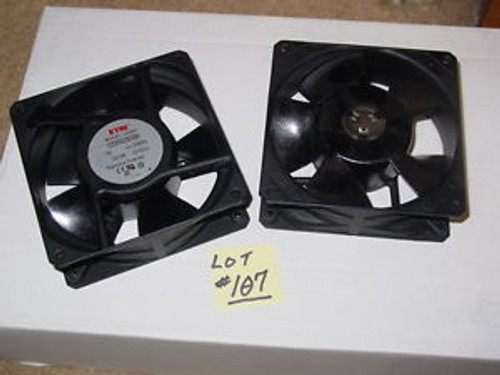 (2) ETRI Axial Fans #125XR0282090 NEVER USED Electronics SAVE$ REDUCED