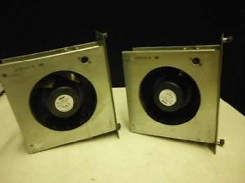 (2) Encased APW Mclean Model DB628-2418S15 Fan 24VDC