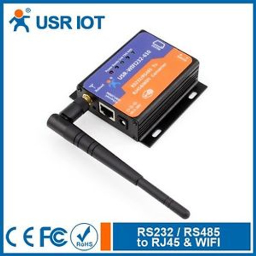 USR-WIFI232-610 WIFI Ethernet to RS232 RS485 serial Converter IEEE802.11 b/g/n