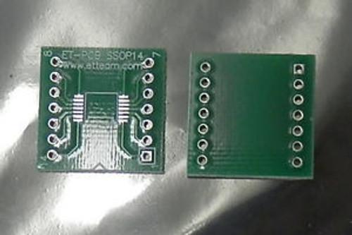 (100) SSOP-14 SSOP14 to DIP-14 pin Adapter PCB SMD SSOP Convert