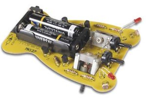 (CLASSPACK OF 10) VELLEMAN MK127 RUNNING MICROBUG DIY ROBOT KIT solder version
