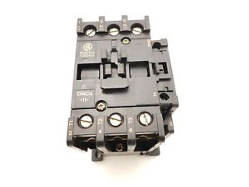 NEW GE 30A 3POLE LIGHTING CONTACTOR CR4CGA 120V COIL