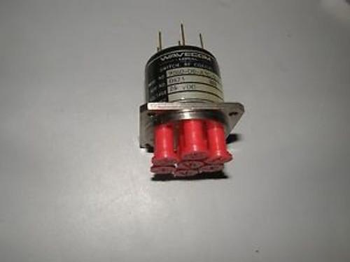 WAVECOM RF COAXIAL SWITCH 9060-D0-A3C-5C0