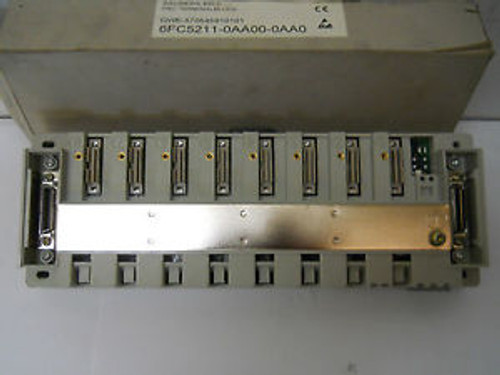 SIEMENS 6FC5211-0AA00-0AA0 NCU TERMINAL BLOCK MODULE 840D NOS CONDITION IN BOX