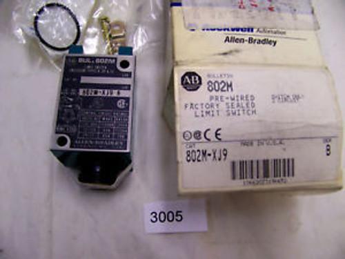 (3005) Allen Bradley Limit Switch 802M-XJ9 10 A 600 VAC