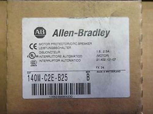 Allen-Bradley 140M-C2E-B25 Motor Protector/Circuit Breaker
