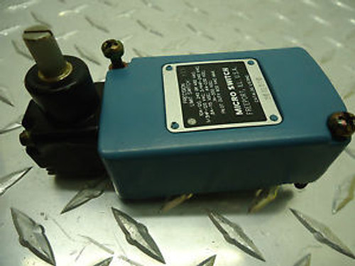 MICRO SWITCH 201LS10 PRECISION LIMIT SWITCH NEW NO BOX