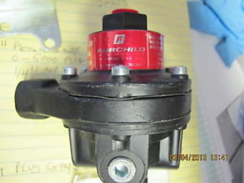 Fairchild Model 20 Pneumatic Volume Booster 1:1 Ratio 1/4 NPT Tapped Exhaust