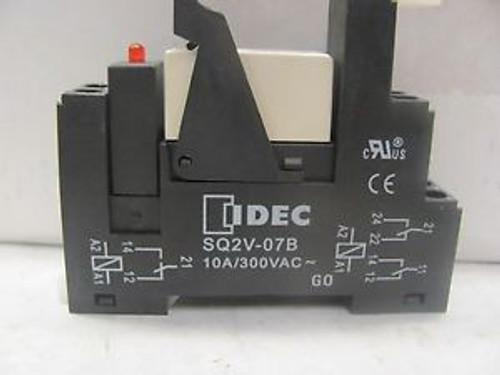 Lot Of (22) Idec SQ2V-07B Relay Base New