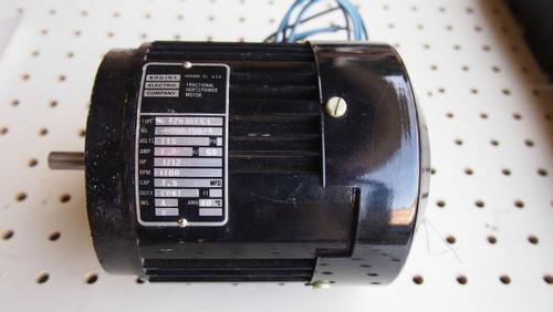 BODINE ELECTRIC 1/12HP 115V GEARMOTOR 42R3BFC1