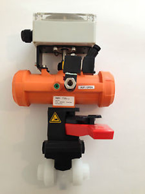 NEW +GF+ Georg Fischer PA11 Actuator w/ 546 Valve, MF-Modul, Smart Poly Box
