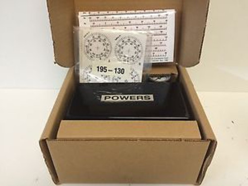 NEW - IN BOX SIEMENS POWERS 3-INPUT PNEUMATIC RECEIVER CONTROLLER 1950003