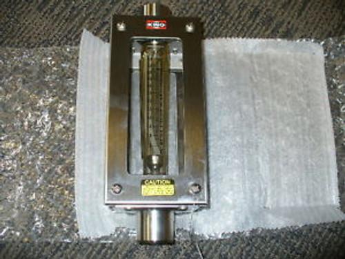 King Instrument  Polysulfone Tube Flowmeters. 7311-2230-54W. 10 GPM