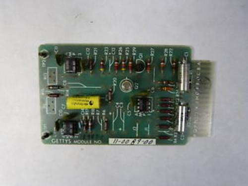 Gettys 11-0089-00 Circuit Board  NOP