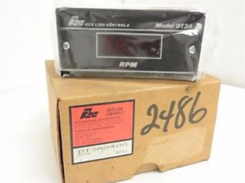 146866 New In Box, Red Lion DT3A0400 Digital Speed Indicator/Tachometer, 115VAC