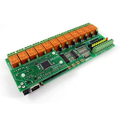 Internet/Ethernet SNMP Digital Input ADC 12 Relay Way Module Board