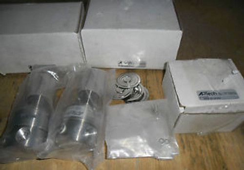 2 Only AP Tech AK1210S 4PL 8800 Stainless Steel Regulator C/W Repair Kit AK1200S