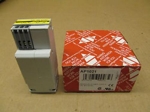 1 New CARLO GAVAZZI AP1021 UNIVERSAL POWER SUPPLY 24V...48 V AC/DC