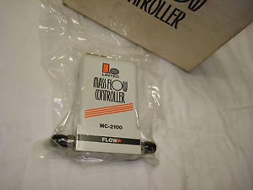 Lintec Mass Flow Controller MFC Unit - MC-2101MC Gas N2 100 SCCM - Digital