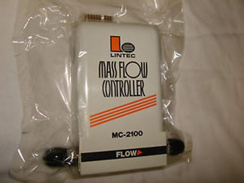 Lintec Mass Flow Controller MFC Unit - MC-2101MC Gas N2 100 SCCM - Digital MFC