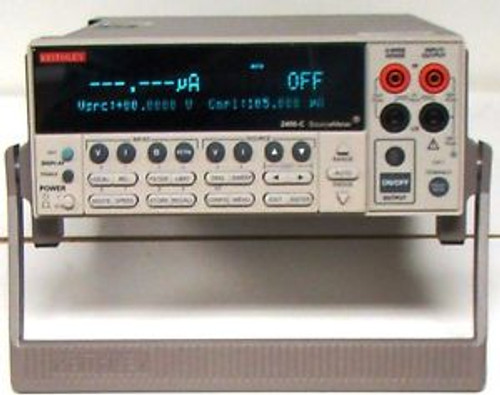 Keithley 2400C SourceMeter CALIBRATED with WARRANTY