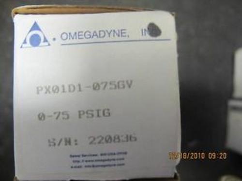 NEW OMEGA PX01 Pressure Transducer 0-75 PSIG OMEGADYNE
