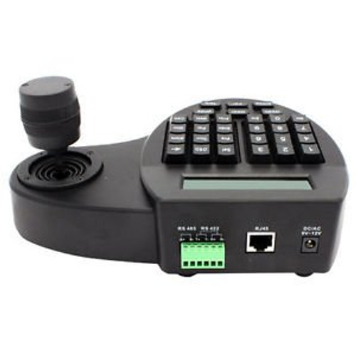 1pcs 3D Keyboard Controller Speed Dome CCTV Camera with LCD PTZ 3 Axis Joystick