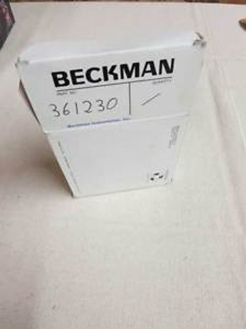 (Lot of 2) Beckman centrifuge adaptors - 3 place, 15mL, Cat# 361230