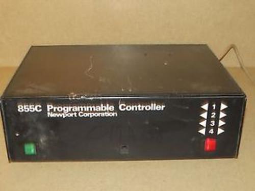++ NEWPORT CORP MODEL 855C PROGRAMMABLE CONTROLLER
