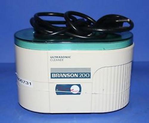 (1) Used Branson 200 Ultrasonic Cleaner