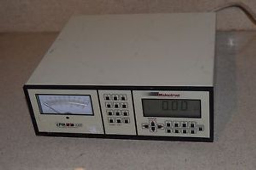 MOLECTRON EPM 1000 LASER POWER METER MODEL EPM1000