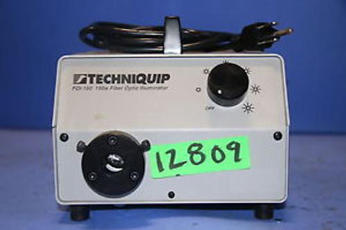 (1) Used Techni Quip Corp FOI-150 Fiber   Optic Light Illuminator Light Source