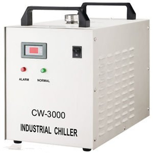 110V Cw-3000Dg Thermolysis Industrial Water Chiller For 60 / 80W Laser Engraving