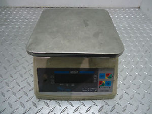 Accuweigh Ppc-200W Digital Portion Scale Washdown 10Lbs Cap. Used