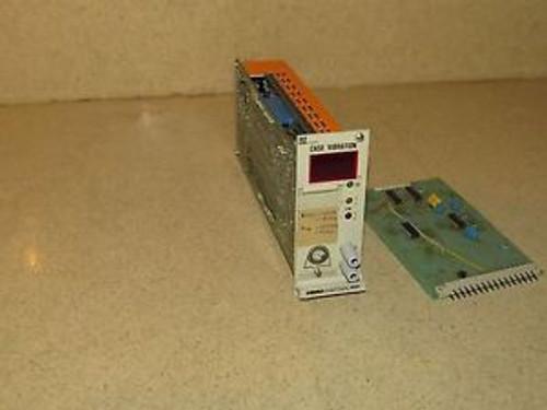 SCHENCK VIBROCONTROL 2000 CASE VIBRATION MODULE / CONTROLLER