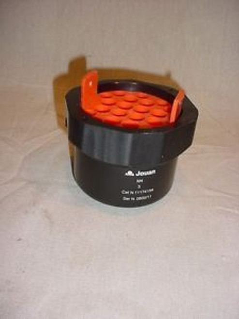 1  Jouan Swing Out Centrifuge Buckets with Liner Part No. 11174154