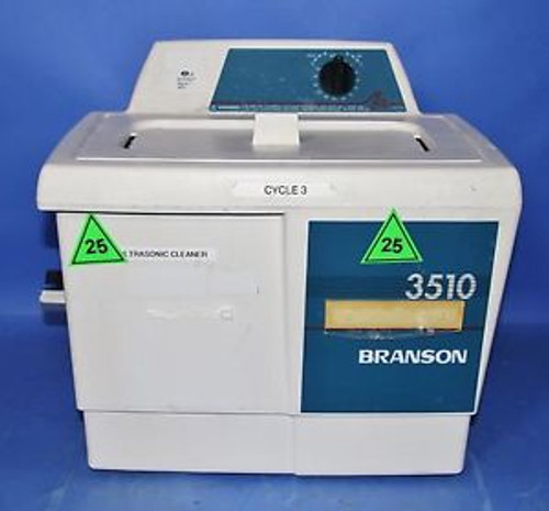 (1) Used Bransonic 3510R-MT Ultrasonic Cleaner