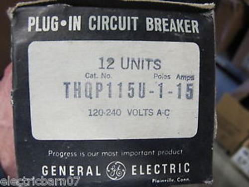 (12) GE  THQP115 15 Amp Circuit Breaker