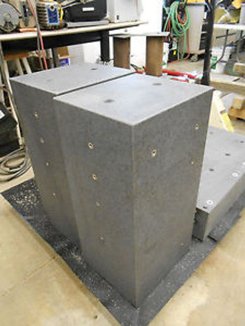 12 x 13.75 x 27.5 GRANITE BLOCK FOR ANTI-VIBRATION TABLE APPROX 430lbs