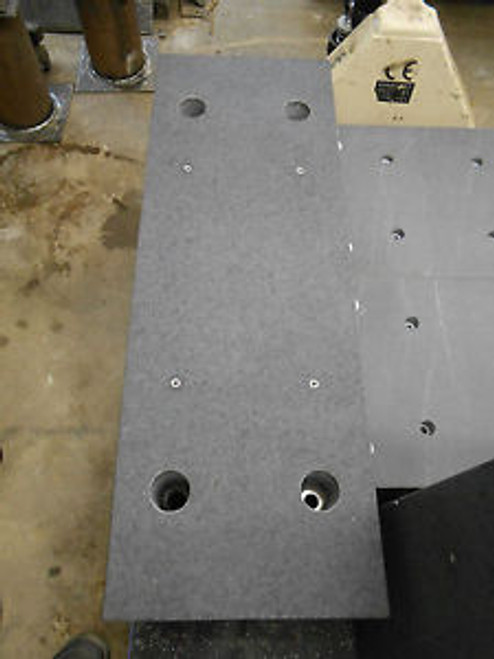39-3/8 x 12-3/4 x 13-3/4 GRANITE BLOCK FOR ANTI-VIBRATION TABLE APPROX 650LBS