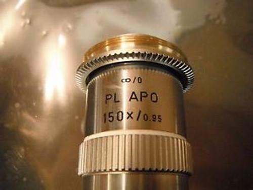 Leitz Wetzlar Lens Opjective Optic Pl Fluotar 50X/ 0.85D